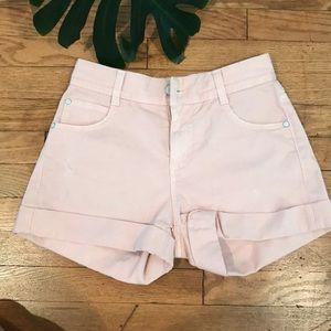 Pants - STELLA MCCARTNEY PINK SHORTS